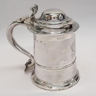 George II Silver Tankard
