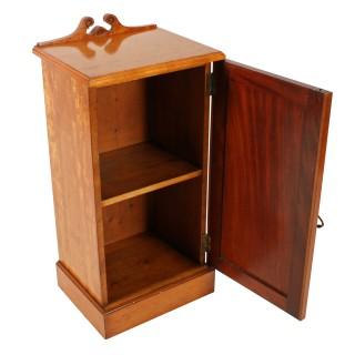 Victorian Satinwood Bedside Cabinet