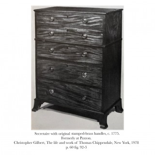 Fine George III Chest of Drawers, attributed to Thomas Chippendale Junior