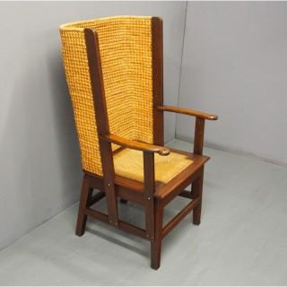 Large Oak Orkney Chair