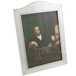 Sterling Silver Photograph Frame - Antique George V (1932)