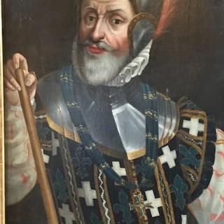 16th Century Oil On Canvas Of Louis Pfeiffer