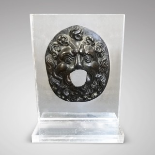 Venetian Bronze lion's masque