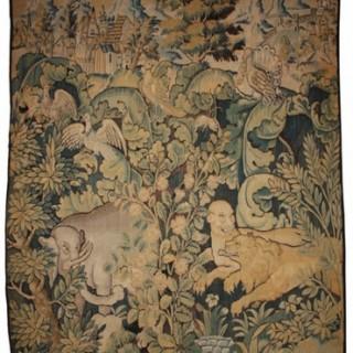 Feuilles de choux tapestry