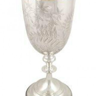 Antique Edwardian Sterling Silver 9