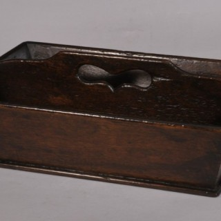 Antique Early 19th Century Mahogany Cutlery Tray