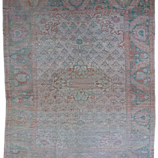 Rare pale Antique Ziegler carpet, Persia