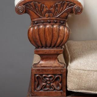 Fine Regency Mahogany Sofa After John Taylor