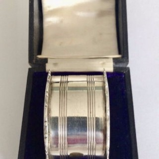Antique Silver Napkin Ring