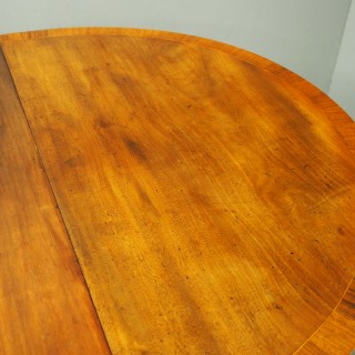 George III Style Pedestal Dining Table with 1 Leaf