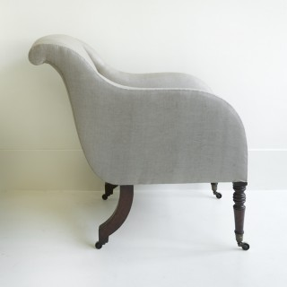 LIBRARY CHAIR, C1800