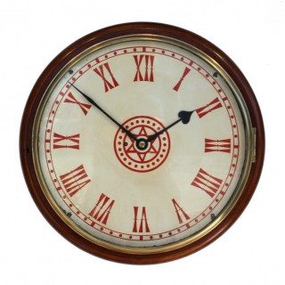 Large English Dial clock with Star design Dial