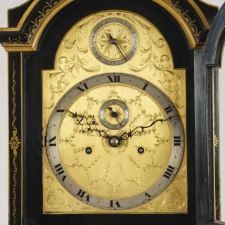 A Good Longcase Clock in the Chinoiserie Manner