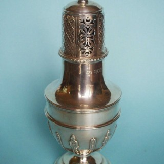 large Silver Caster