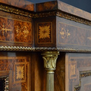 Exhibition Quality Victorian Credenza by J&W Lomax