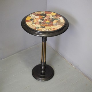 Italian Specimen Marble Table