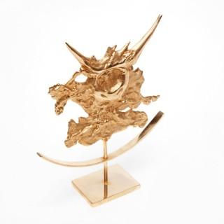 Philippe Cheverny Taurus Zodiac Sculpture 1970s
