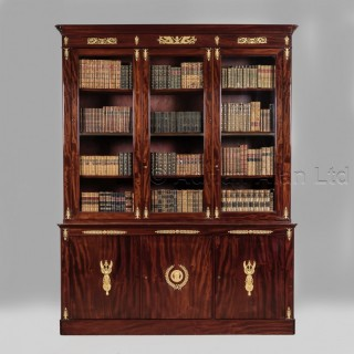 A Mahogany Empire  Library Bookcase