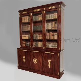 A Mahogany Empire  Library Bookcase