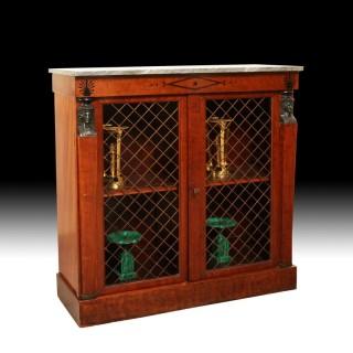 A Regency side cabinet