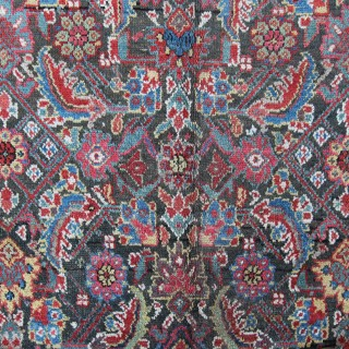 Antique Kurdish long Kelleh carpet