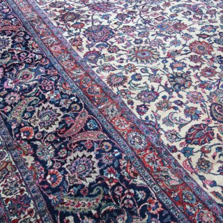 Antique Meshed carpet