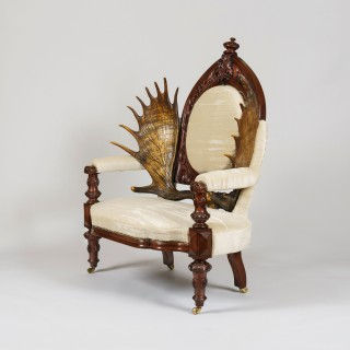 A Remarkable Scottish Laird's Armchair
