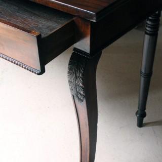 A Regency Period Mahogany Serving Table c.1820