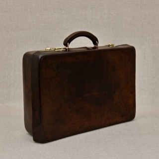 Norfolk Hide Leather Attaché Case
