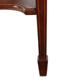 Bow Front Side Table By Gillows