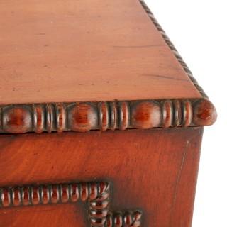 Regency Mahogany Table Cabinet