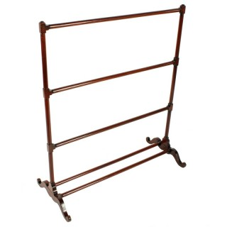 Georgian Mahogany Towel Rail
