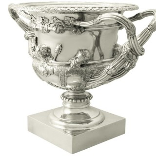 Sterling Silver Warwick Vase - Antique Edwardian (1908)