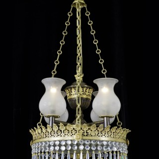 AN FINE REGENCY PERIOD DISH-LIGHT
