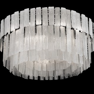 A MONUMENTAL 20TH CENTURY CHANDELIER COMMISSIONED FOR THE QE2
