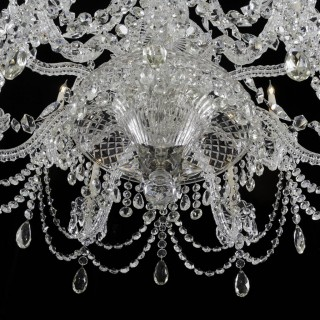 A HIGHLY IMPORTANT MID VICTORIAN ANTIQUE CHANDELIER ATTRIBUTED TO F&C OSLER