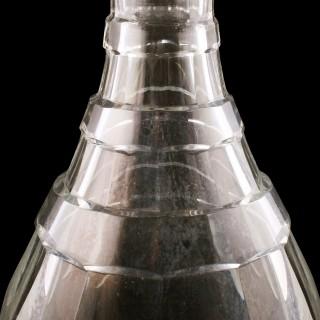 Edwardian Glass Magnum Decanter