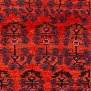 Persian red wool carpet hall runner