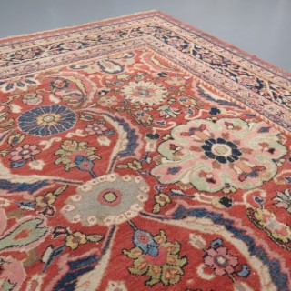 Square shape Mahal carpet