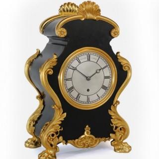 1850s Fusee Mantel Clock,  Benjamin Lewis Vulliamy