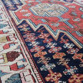 Rare Heriz 'Maslaghan design' runner, Persian