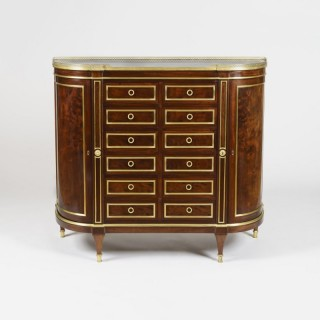 A fine side cabinet in the Louis XVI manner By G. Durand of Paris