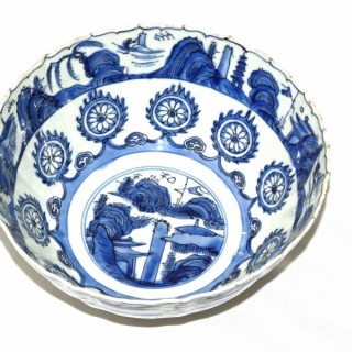 Ming Blue and White - Wanli - Bowl