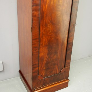 George IV Mahogany Single Wardrobe