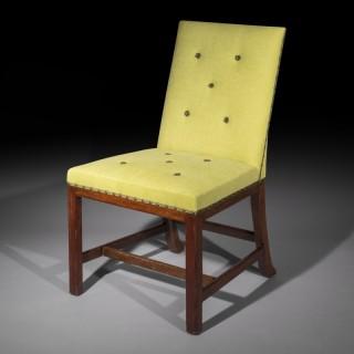Set of Eight Scottish Chippendale Laburnum Dining Chairs