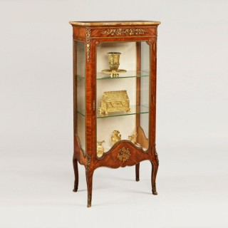 A Fine Vitrine in the Manner of Francois Linke