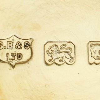 Sterling Silver Inkstand - Antique George V (1926)