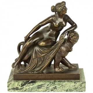 Small Bronze Sculpture of