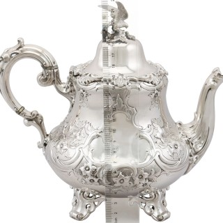 Sterling Silver Teapot - Antique Victorian (1856)