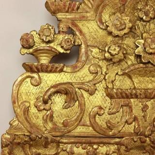 Early 18th Century Régence Giltwood Mirror